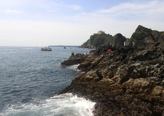 黒島から和一の方角
