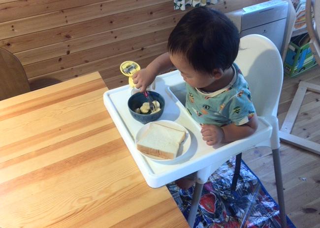 朝食 食パン