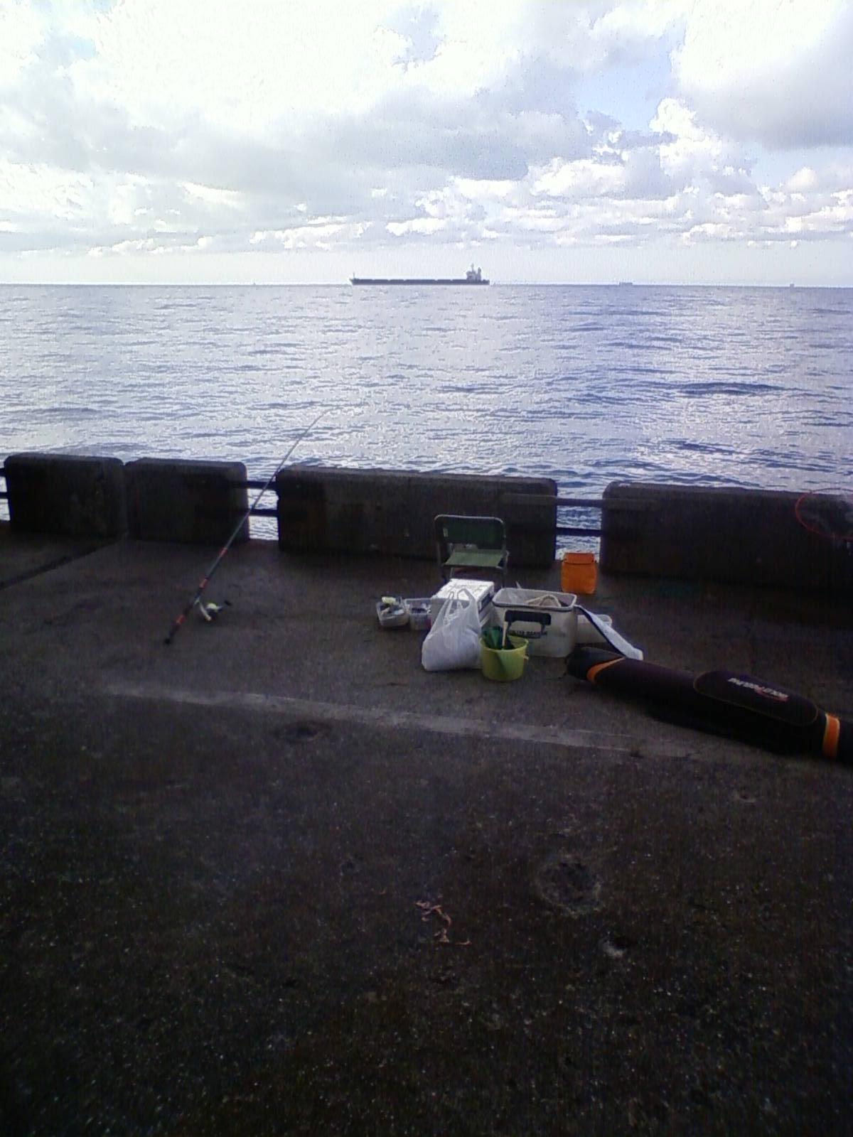 和歌山北港釣り公園釣り座