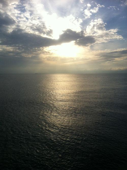 海はいいなあ